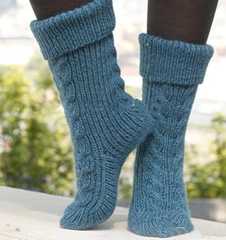 جوراب بافتنی دخترانه فانتزی